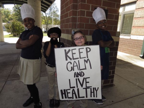 Tarrant Intermediate School students demonstrate healthy approaches to problem-solving