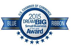 2015 US Chamber of Commerce Blue Ribbon Award!