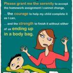 Crestline Academy - mothers homework prayer