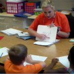 Students at Indian Valley Elem. participate in literacy lessons designed to meet their needs