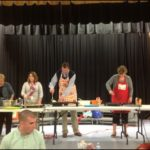 "ASC Team members help with the ""Pancakes for Parents"" Breakfast"